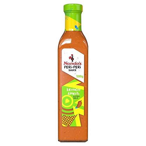 Nando's Peri-Peri Sauce Lemon & Herb 500g
