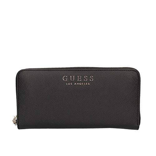Guess Robyn SLG Large Zip Around Black