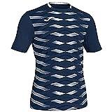 Joma Academy Camisetas, Hombre, Marino, M
