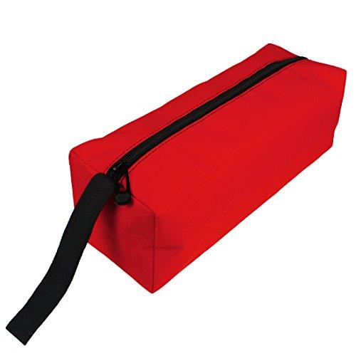 Andux Zone Tool Kits Aufbewahrungstasche Wasserdichte Werkzeugreißverschlusstasche WJSNB-01 (Rot)