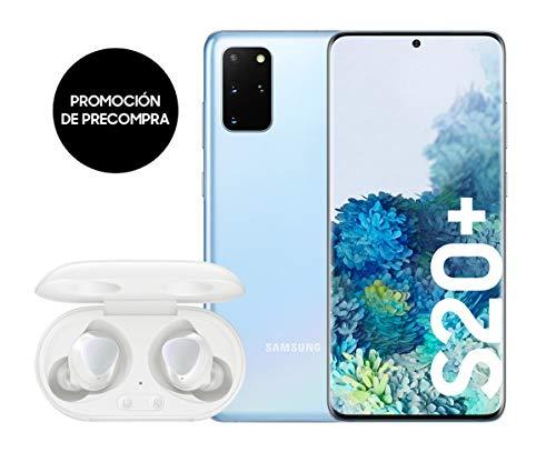 Samsung Galaxy S20+ 128 GB/8GB (Cloud Blue) Dual-SIM Smartphone Spanische Version