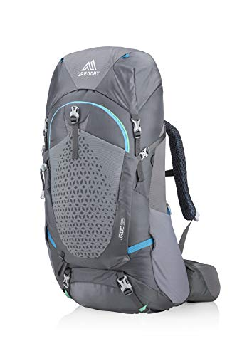 Gregory Mountain Products Jade 53 Liter Women's Overnight Hiking Backpack, Ethereal Grey, Small/Medium