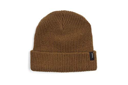 Brixton Men's Heist Beanie Hat, Coyote Brown, One Size