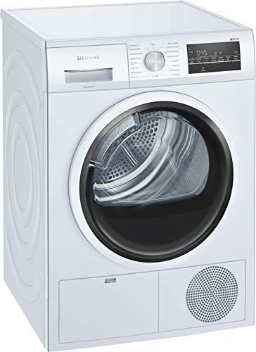 Siemens iQ500 WT46G402 iSensoric Kondensationstrockner mit autoDry-Technologie zur Verhinderung des Einlaufens der Wäsche beim Trocknen, 9 kg