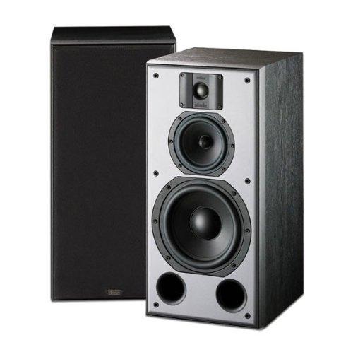 Indiana Line DJ 308 Nero Coppia diffusori da scaffale