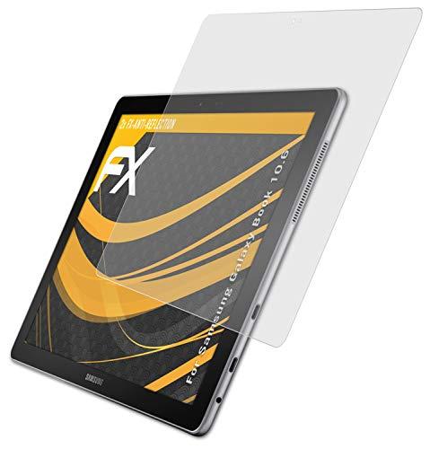 atFolix Panzerfolie kompatibel mit Samsung Galaxy Book 10.6 Schutzfolie, entspiegelnde & stoßdämpfende FX Folie (2X)
