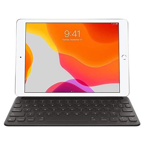 Smart Folio Keyboard com Teclado Apple Ipad 7 Geração, Preto