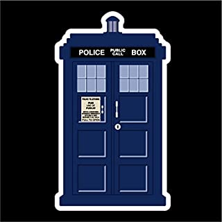 Keen Doctor Who Tardis Vinyl Decal Sticker|Cars Trucks Vans Walls Laptops Cups|Full Color|5.5 X 3 in|KCD774