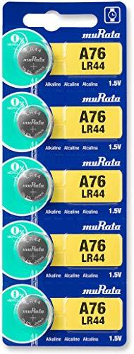 Murata LR44-BEAWW Knopfzelle LR 44 Alkali-Mangan 120 mAh 1.5 V 5 St.
