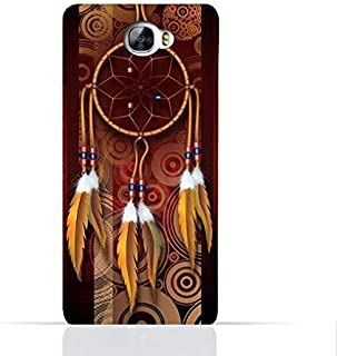 Huawei Y6 II Compact TPU Silicone Case With American Feathers Design