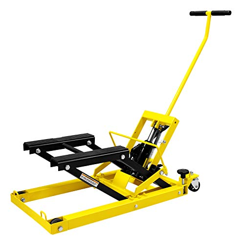 Performance Tool W41035 1/2 Ton (1,500 lbs) Hydraulic Motorcycle, ATV, Snowmobile & Multi-Purpose Lift