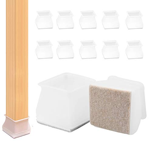 Protectores Para Patas de Mesa, Silicona Protector Suelo (S(1.8-2.9CM))