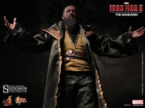 Hot Toys Movie Masterpiece Series Iron Man 3 - The Mandarin Sixth Scale 12