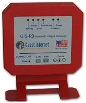 GIS-R3 Internet Hotspot Gateway for 100 users