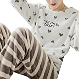 ShSnnwrl Pijama Mujer de Pijamas Hombre Pajamas Set Autumn and...