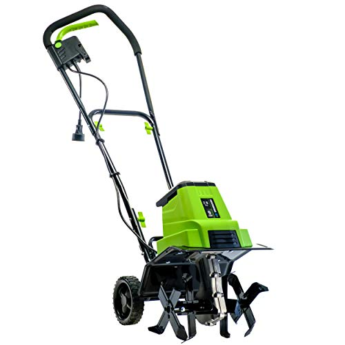 Earthwise TC70090 9-Amp 12-Inch Corded Electric Tiller/Cultivator