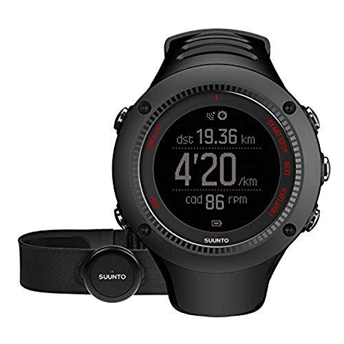Relógio Suunto Ambit3 Run Monitor GPS HR SS021257000 (preto)