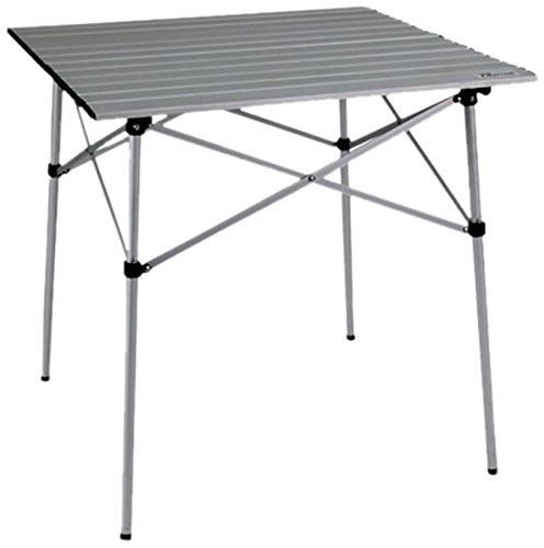 Ferrari & Arrighetti gordijnen rolgordijnen 70 campingtafel rolgordijn en outdoor en tuin van aluminium, 70 x 70 x 70 cm, blauw, eenheidsmaat