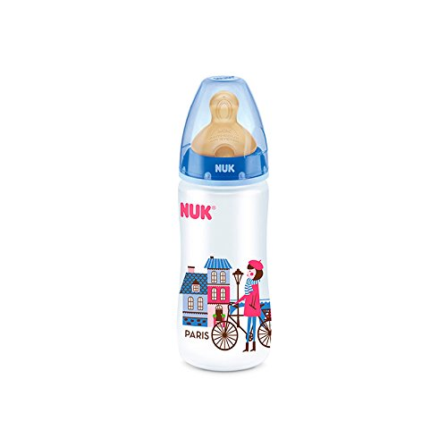 Biberon Nuk travel 1M latex 300 ml