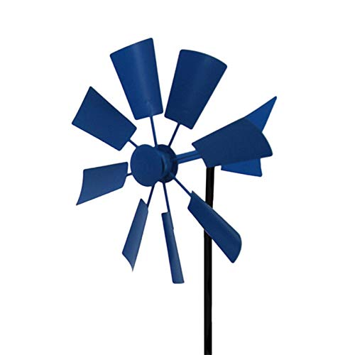 Windrad Garten Metall, Windräder Windspiel Für Draußen, 66 Cm High Windmühle Garten Groß Für Gartendeko Und Balkon Deko