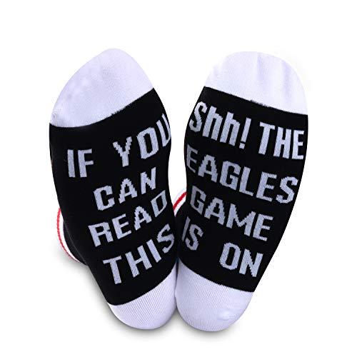 American Football Geschenk Fußball Fans Geschenk Lustige Geburtstag Geschenk Neuheit Fußball Socken Gr. M, Adler