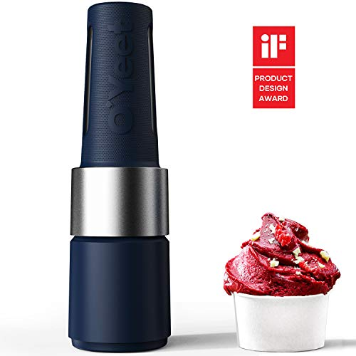 OYeet Personal Blender Shakes and Smoothies 10 Sec Quick Nutrition Extractor 1000W iF Design Award BPA Free Recipes Available(Prussian Blue)
