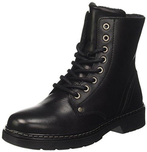 BULLBOXER Mädchen AHC501E6L Chelsea Boots, Schwarz (Black), 34 EU