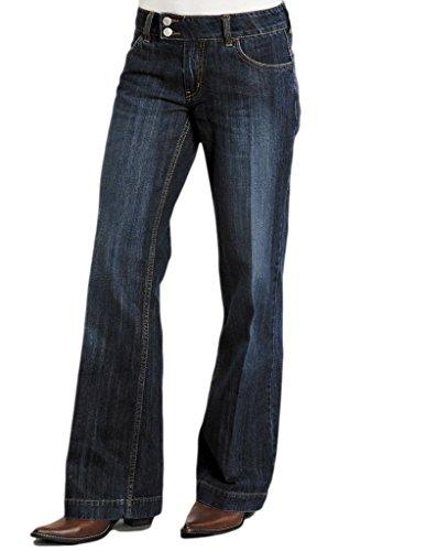 Stetson Women's 214 City Trouser Blue Jeans 14 X 33