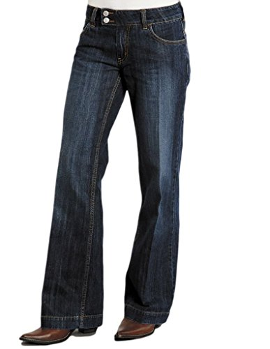 Stetson Women's 214 City Trouser Blue Jeans 14 X 33