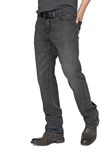 bruno banani Herren Jeans Jeanshose Brody (Grey Used, W32/L34)