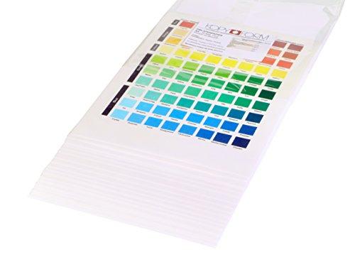 KOPYFORM Oblatenpapier Standard DIN A4, 25 Blatt (TP025)