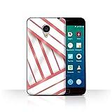 Stuff4 Phone Case for Meizu MX4 Pro Seaside Fashion Coral