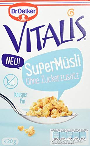 Dr. Oetker Vitalis SuperMüsli O. Zuckerzusatz, 7er Pack (7 x 420 g)