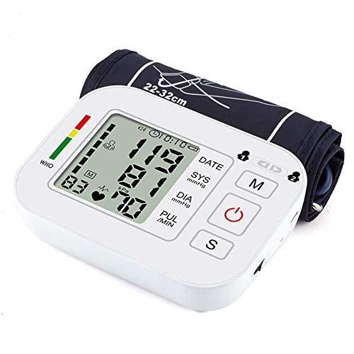 DCSHOP Blutdruckmessgerät Handgelenk, Digitale Blutdruckmessgeräte für das Handgelenk mit 198 Speicherkapazität Digitale Automatische Blutdruckmessung mit Herzfrequenz-Pulserkennung