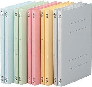 コクヨ フラットファイルV樹脂とじ具 A4縦 5色×2冊