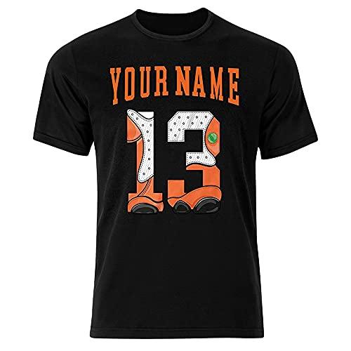Custom Jordan 13 Starfish Unisex T-Shirt   Numer 13 Unisex T-Shirt Made to Match 13 Starfish   Number 13 Tshirt   Retro 13 Starfish T-Shirt - Sweatshirt   Birthday Gift (2)