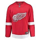 Fanatics Detroit Red Wings Breakaway NHL Trikot Home Rot -