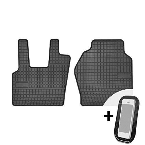 moto-MOLTICO Gummimatten Auto Fußmatten Gummi Automatten Passgenau 2-teilig Set - passend für Scania R ab 2015