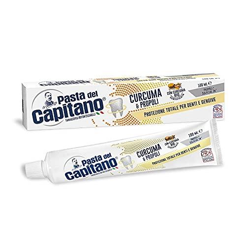 Pasta del Capitano Dentifricio Curcuma E Propoli - 100 Ml - 100 ml