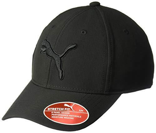 PUMA Men's Evercat Dillon 2.0 Stretch Cap, Black, L/XL