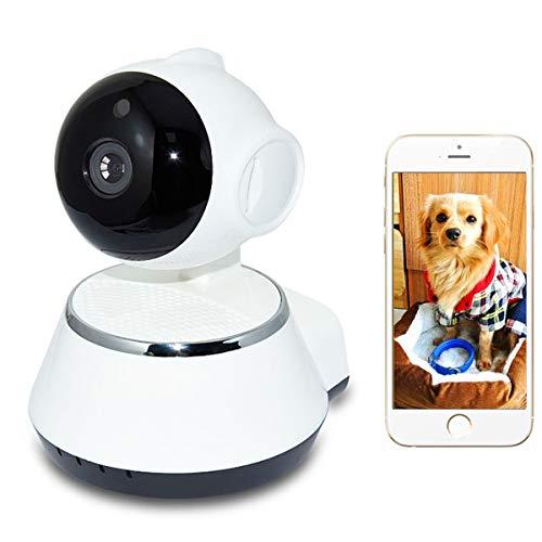 Huntfgold Innen Überwachungskamera IP WLAN Kamera mit IR Nachtsicht 720P Baby Monitor Haustier Haus Kamera mit APP Kontrolle 2 Wege Audio