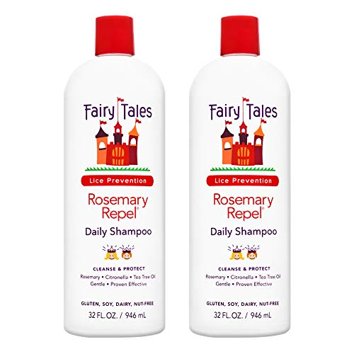Fairy Tales Rosemary Repel Daily Kid Shampoo for Lice Prevention - 32 oz -2 Pack