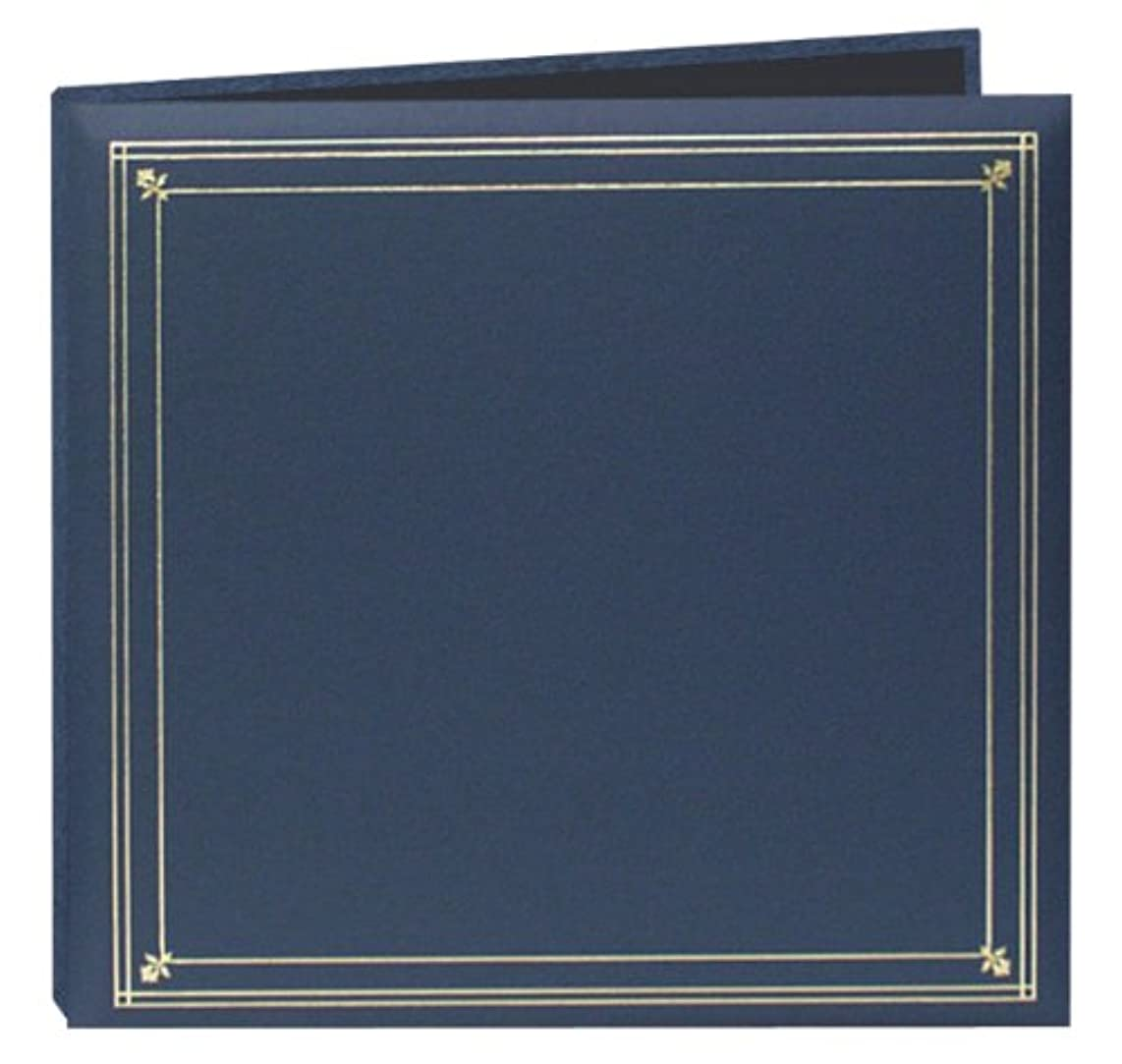 Pioneer Photo Albums 204-Pocket Post Bound Leatherette Cover Photo Album for 4 by 6-Inch Prints, Bay Blue
