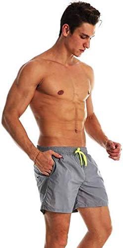 Boxeador para Nataci/ón Pantalones Cortos de Nataci/ón con Tres Bolsillos Shorts con Forro Interior Ducomi Ben Ba/ñador Hombre Voley Playa y Surf El/ásticos y Secado R/ápido