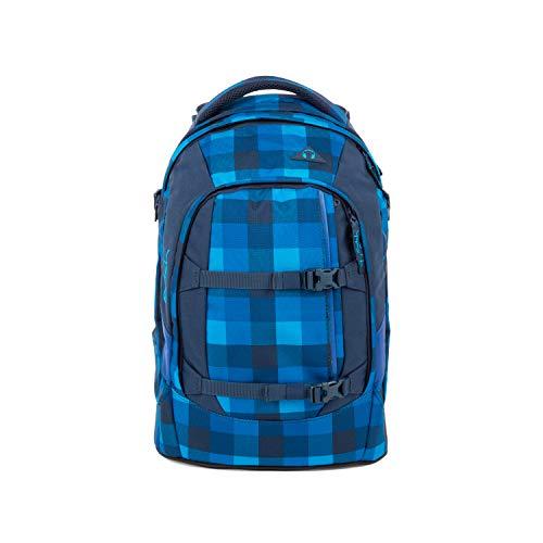 Satch pack Schulrucksack - ergonomisch, 30 Liter, Organisationstalent - Skytwist - Blau