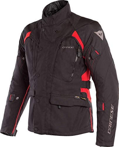 Dainese X-Tourer D-Dry Giacca moto in tessuto Nero/Rosso