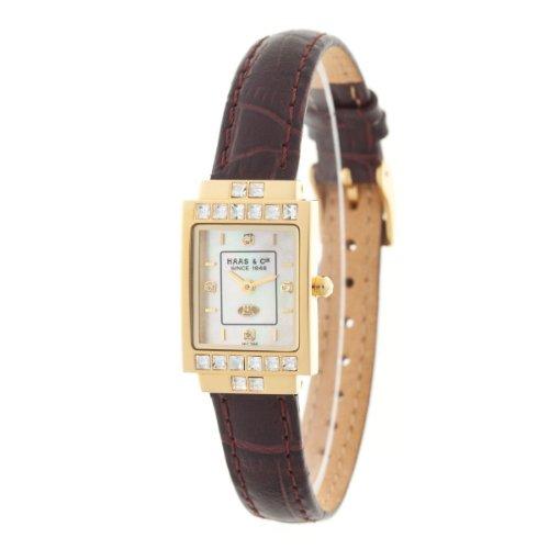 Haas & Cie Damen-Armbanduhr Analog Quarz IKC386XFA