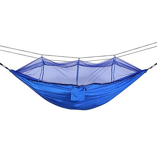 SwtyLife 1–2 Personne extérieure Moustiquaire Hamac Parachute Camping à Suspendre Couchage lit Swing Portable Double Chaise hamac Vert armée WQ