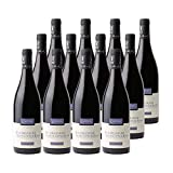 Bourgogne Hautes Côtes de Beaune Rouge 2018 - Domaine Cauvard - Vin AOC Rouge de Bourgogne - Cépage Pinot Noir - Lot de 12x75cl