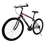 Adult Mountain Bikes 26 Inch Mountain Trail Bike High Carbon Steel Full Suspension Frame Bicycles 21 Speed Tigivemen